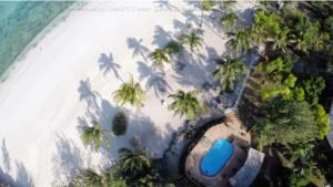 Aerial view -swimming pool