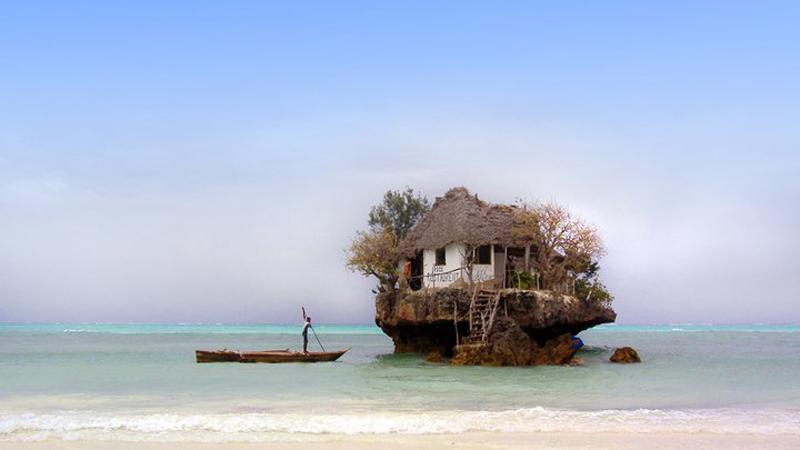 The Rock Restaurant zanzibar accommodations deals